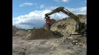 Video still for Screener Crusher Buckets - Applications 2
