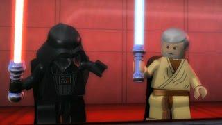 LEGO Star Wars: The Complete Saga Walkthrough Part 18 - Death Star Escape (Episode IV)