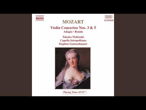 Violin Concerto No 5 in A Major, K 219, Turkish: III Tempo di menuetto