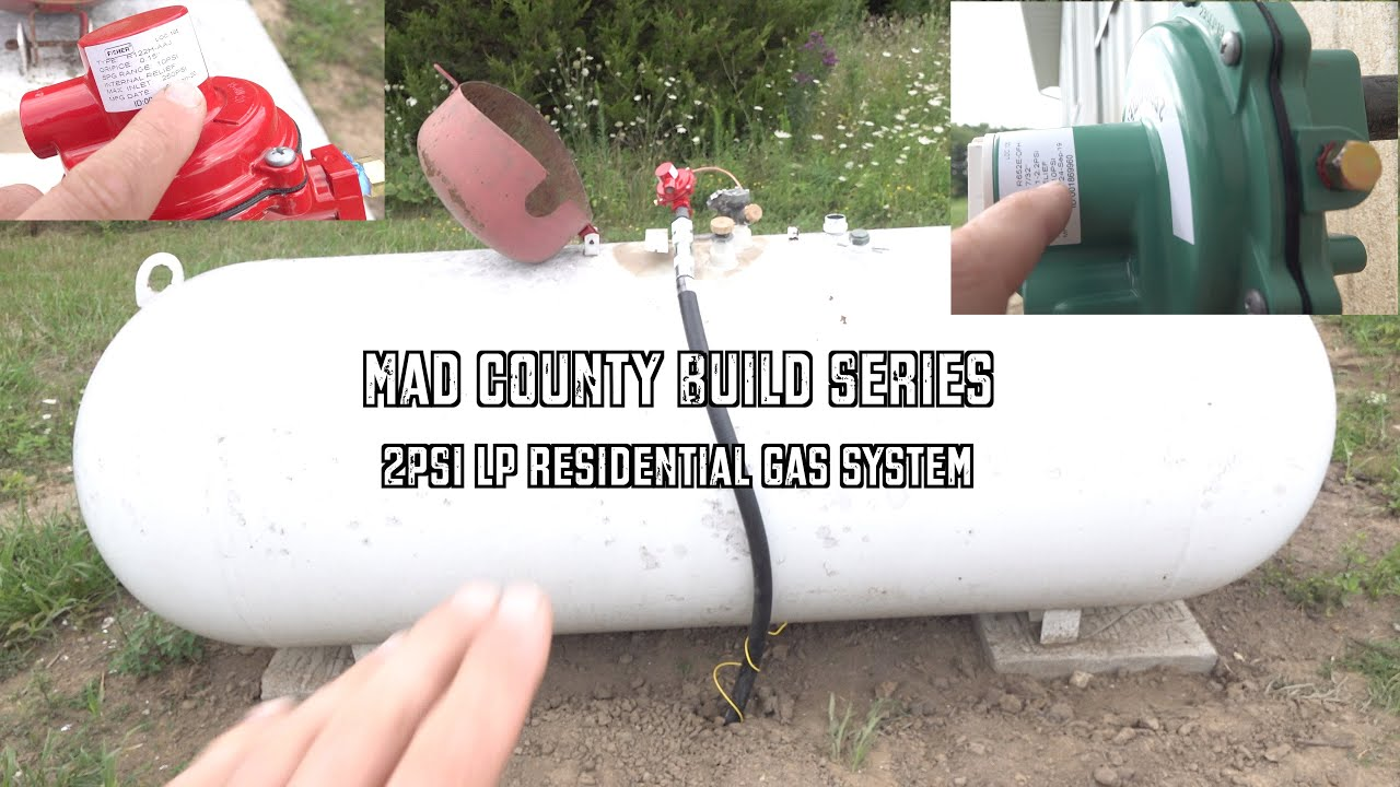 2PSI LP Residential Gas System