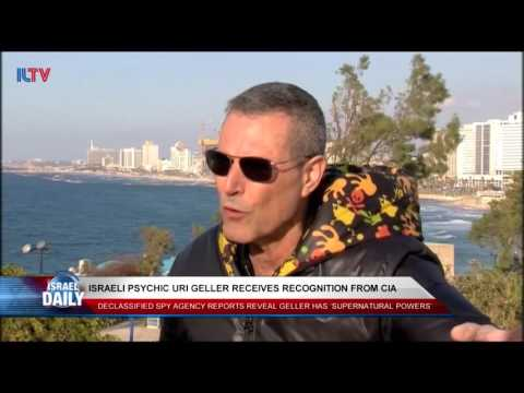 Israeli Psychic Uri Geller Receives Further Recognition For His 'Powers'