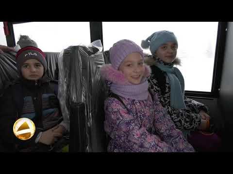 У школы №6 (г.Мегион) появился новый школьный автобус