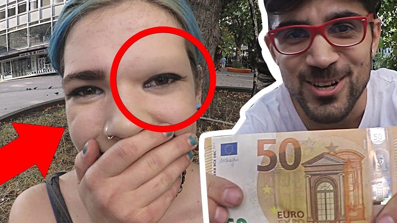 Augenbrauen Rasieren Für Geld Teil 2 Soziales Experiment Prank