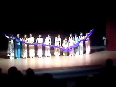 Traditional Vietnamese Fan Danse Cay Da Quan Doc  (Semaine Internationale 16.10.2009 INSA Toulouse)