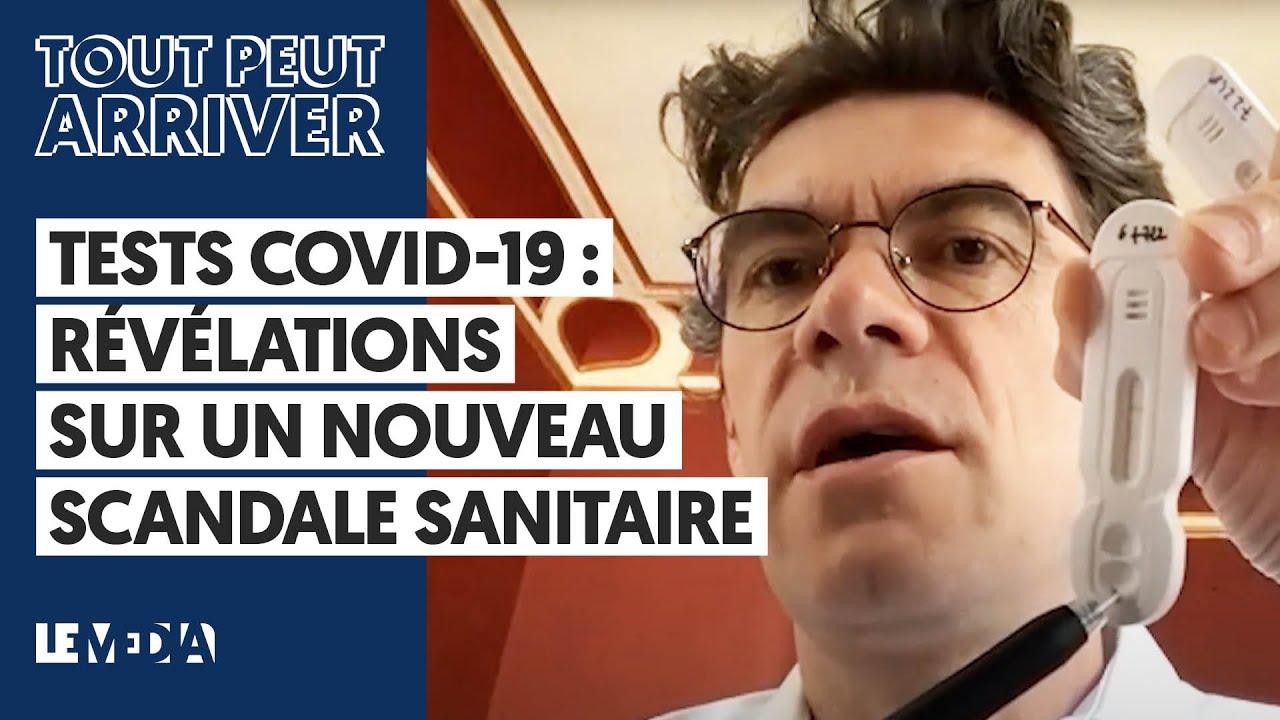 Le Média: Révélations sur  un nouveau scandale sanitaire lié aux tests Covid-19.