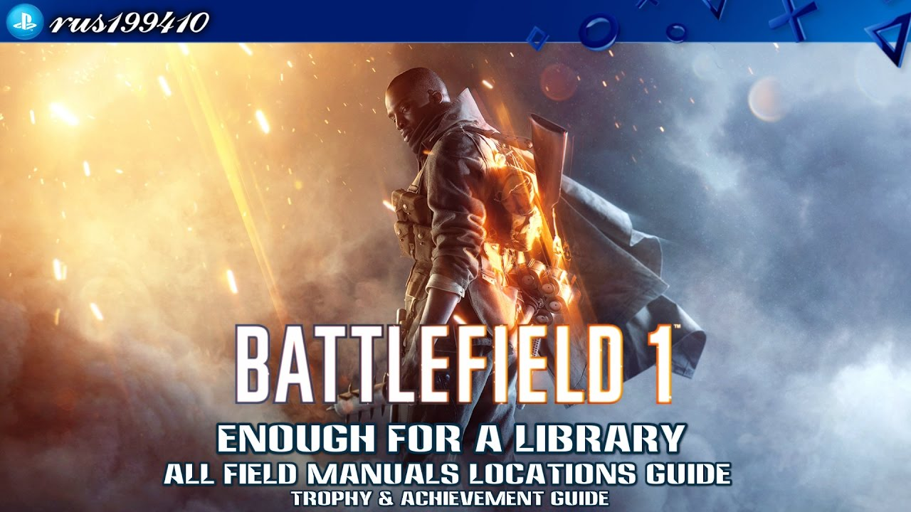 Battlefield 1 - PlaystationTrophies.org