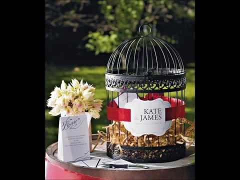Wedding Favors - Love birds