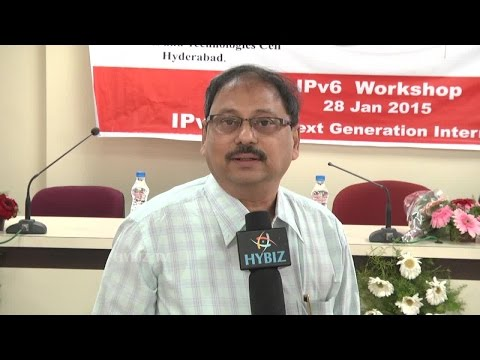 Kiran Kumar Dy. Director General Telecommunication At TS-IT IPv6 Workshop - Hybiz.tv