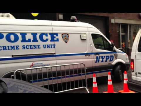 NEW YORK CITY'S CHIEF MEDICAL EXAMINERS OFFICE, NYPD CRIME SCENE UNIT, NYPD ESU AT 9/11 CRIME SCENE.