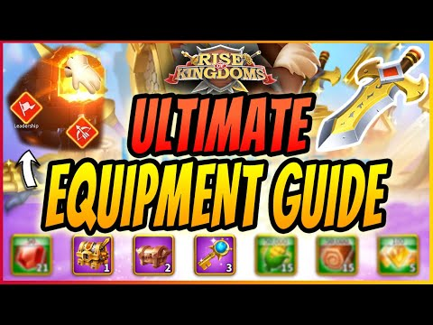 RISE OF KINGDOM COMPLETE GUIDE ON BEST GEAR TO CRAFT | UPDATED WITH NEW PATCH | RoK Guide 2020