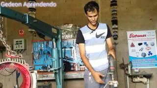 LIGANDO 1 VENTILADOR COM MOTOR DE TAMQUINHO