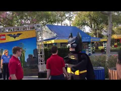 The LEGO Batman Movie Days at LEGOLAND Florida Resort - YouTube