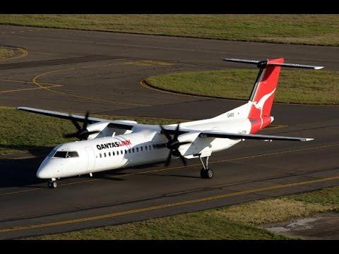 QantasLink Economy Class - Wagga Wagga To Sydney (QF 2220) - Bombardier Dash 8 Q400