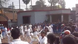 Sonu martial arts Academy Budobas international karate-do Bihar girls karate demonstration