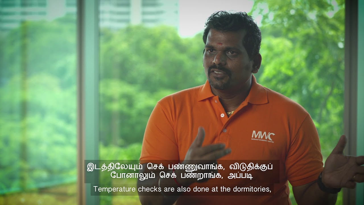 Indian Worker Talks About Covid 19 Tamil Youtube