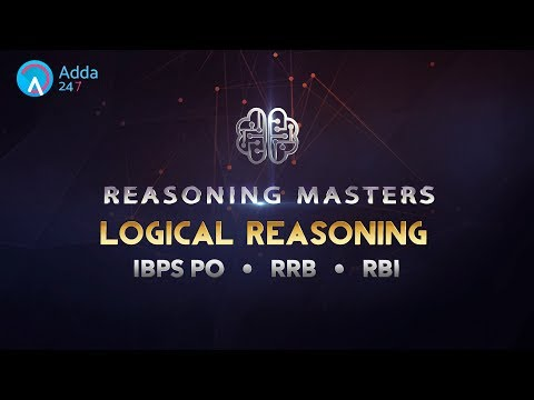 IBPS RRB PO | Logical Reasoning | Online Coaching for SBI IBPS Bank PO