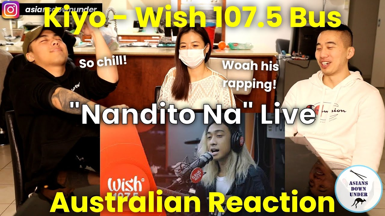 "Kiyo performs ""Nandito Na"" LIVE on Wish 107.5 Bus 