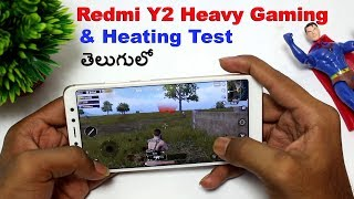 Redmi Y2 Gaming Review & Heating Test || in Telugu