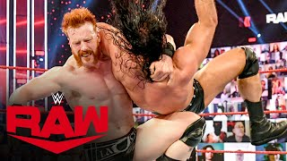 Drew McIntyre vs. Sheamus: Raw, Mar. 1, 2021