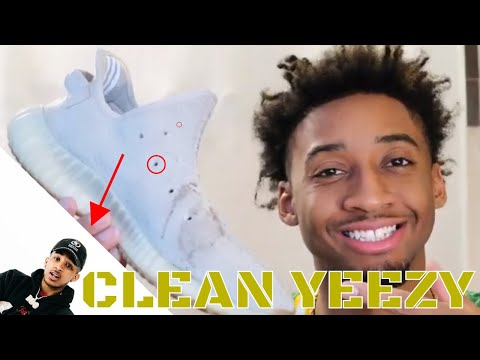 YEEZY BOOST DEEP CLEAN! DDG concert in Cleveland OHIO