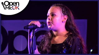 SIA - CHANDALIER Performed by FREYA at Manchester Open Mic UK Singing Competition