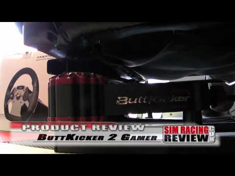Sim Racing Review - Buttkicker 2 Gamer