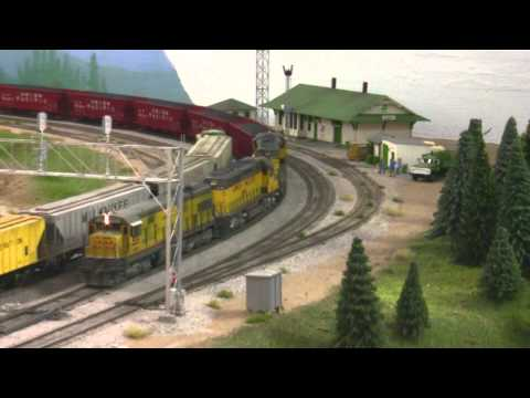 Union Pacific HO Scale Coal Hoppers - Tangent Scale Models HD
