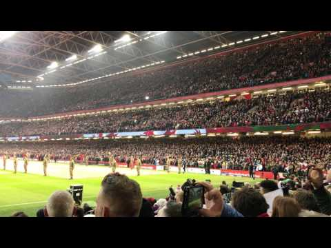 Land of My Fathers - Wales v. England - 11 Feb 2017