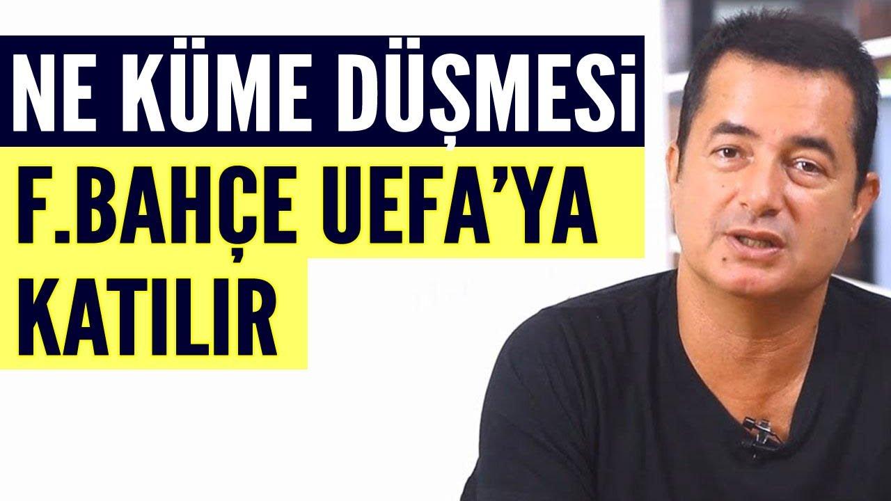 Fenerbahçe UEFA kupalarına katılabilir! Acun Ilıcalı'dan Derin Futbol'a özel açıklamalar
