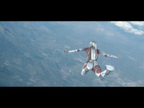 jumping astronaut in space - photo #14