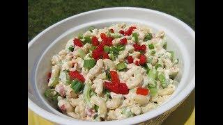 TUNA MACARONI Salad in 10 minutes - Learn how to make demonstration Recipe