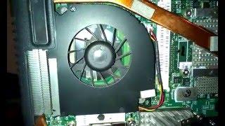 Hlučný ventilátor u notebooku