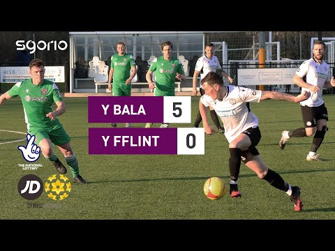 Bala Town Flint Goals And Highlights