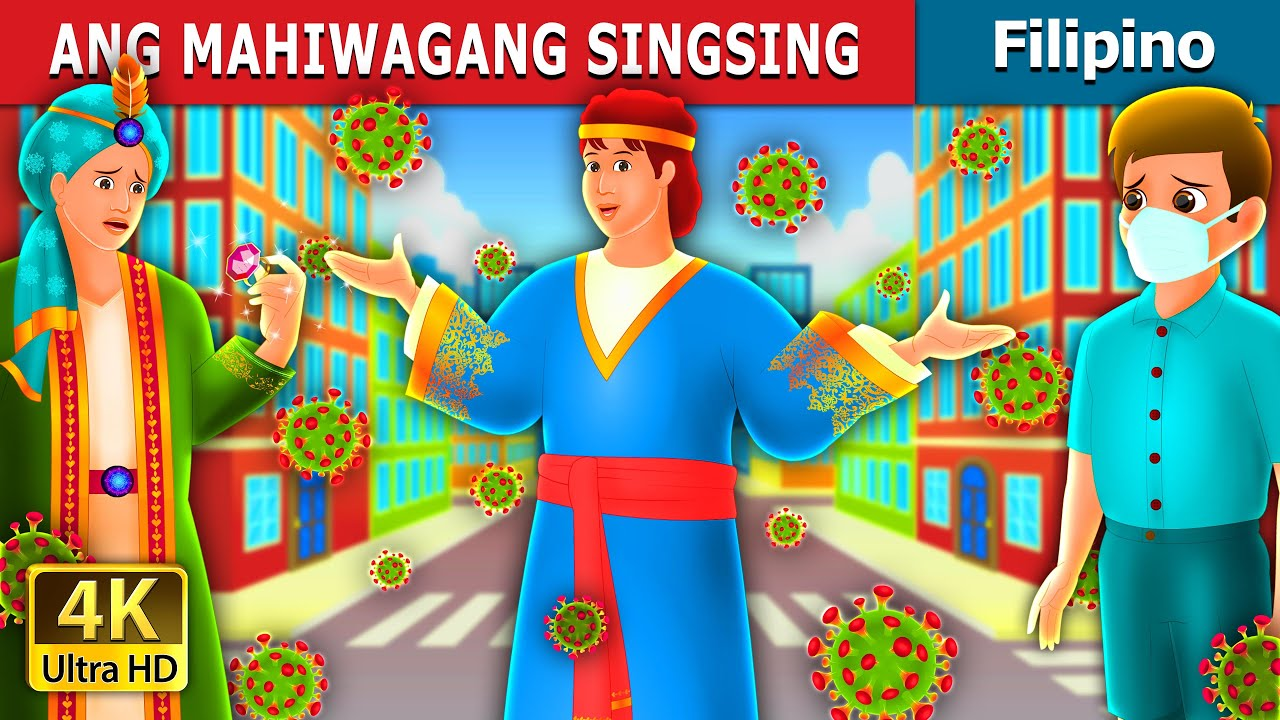 ANG MAHIWAGANG SINGSING | The Magic Ring Story | Filipino Fairy Tales