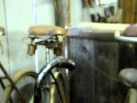 Collection Of Antique Bikes