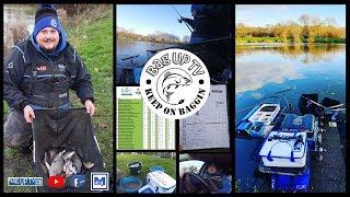Hallcroft Fishery FeederMasters Winter Pairs Round 1 Match Fishing BagUpTV