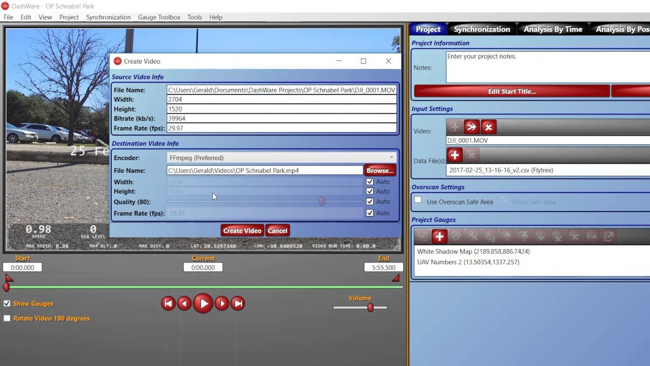 DashWare - Win10, No Video / FFMPEG Error FIXED!