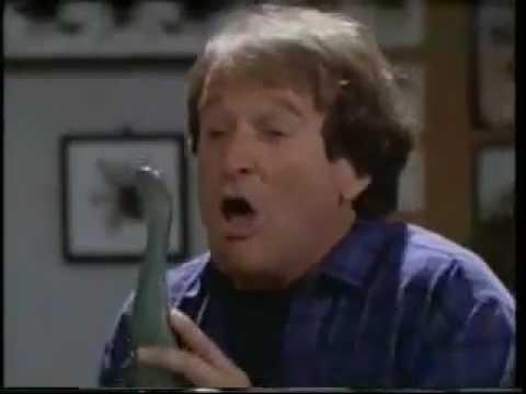 Mrs Doubtfire - Dinosaurs - No Meat, Big Feet - Robin Williams
