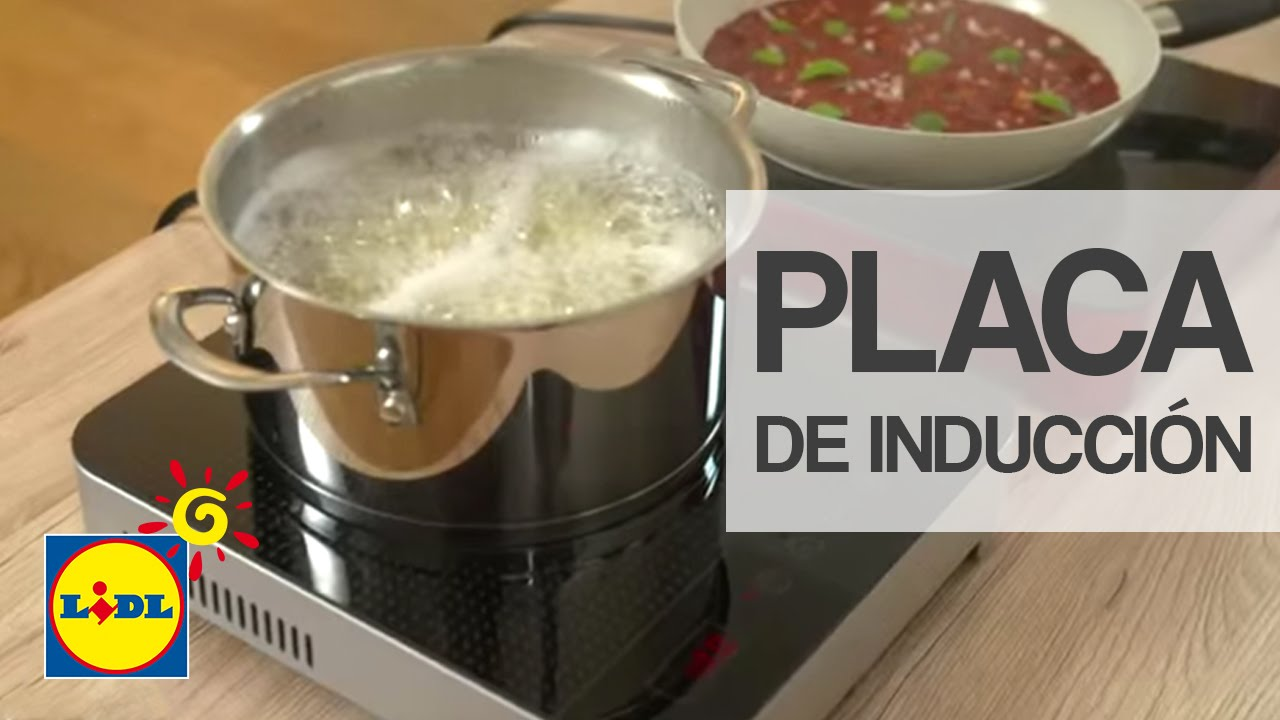 Placa de inducci n port til lidl espa a youtube - Cocina de induccion portatil ...