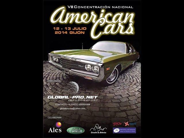 AMERICAN CARS GIJON 1º PARTE ADVENTURE FAMILY PARK Videos De Viajes