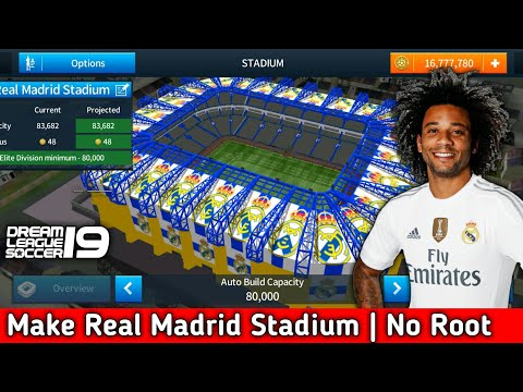 How To Create Real Madrid 2019 Team Kits & Logo | Dream League Soccer 2019 Mobile Phone I Used ....