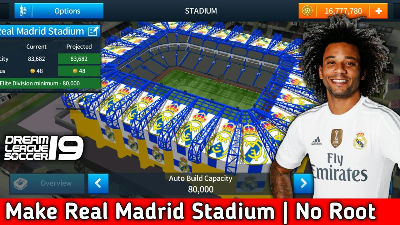 How To Change The Stadium Of Dream League Soccer (Real Madrid Stadium) [No  Root & No Mod Apk]