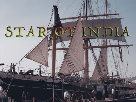 Star of India in the San Diego Maritime Museum