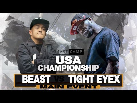 Beast vs Tight Eyex | The Beast Camp USA Championship