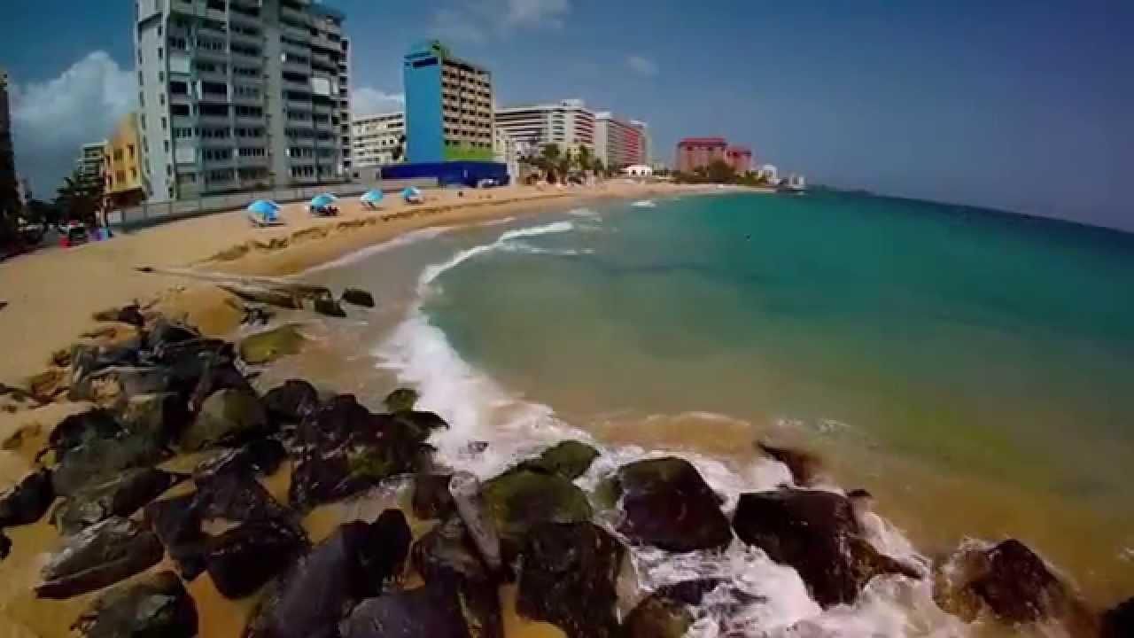 Beach Of El Condado Puerto Rico