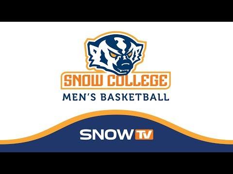 Snow College Men's Basketball vs CSI 2-22-18