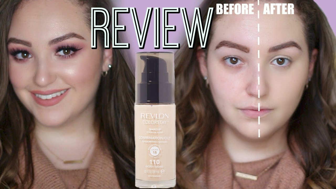 Revlon Colorstay Foundation For Oily Combination Skin Review