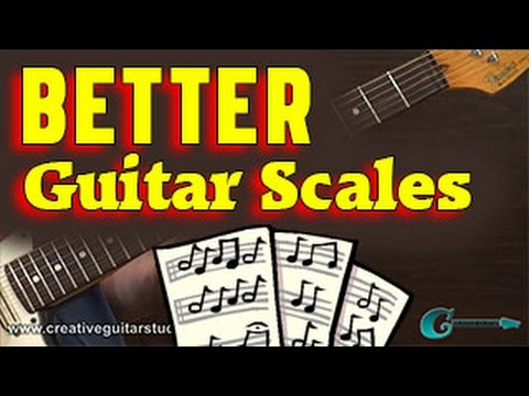 MUSIC THEORY: Better Understanding of Guitar Scales