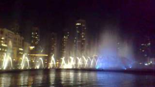 Dubai Mall Fountain,at the base of Burj Dubai(Kalifa)Baba Yetu by Christopher Tin