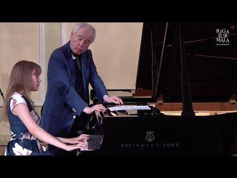 Piano masterclass with András Schiff and student Tähe-Lee Liiv